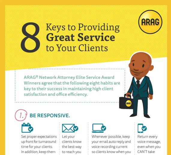 8 Keys to Providing Great Service to Your Clients