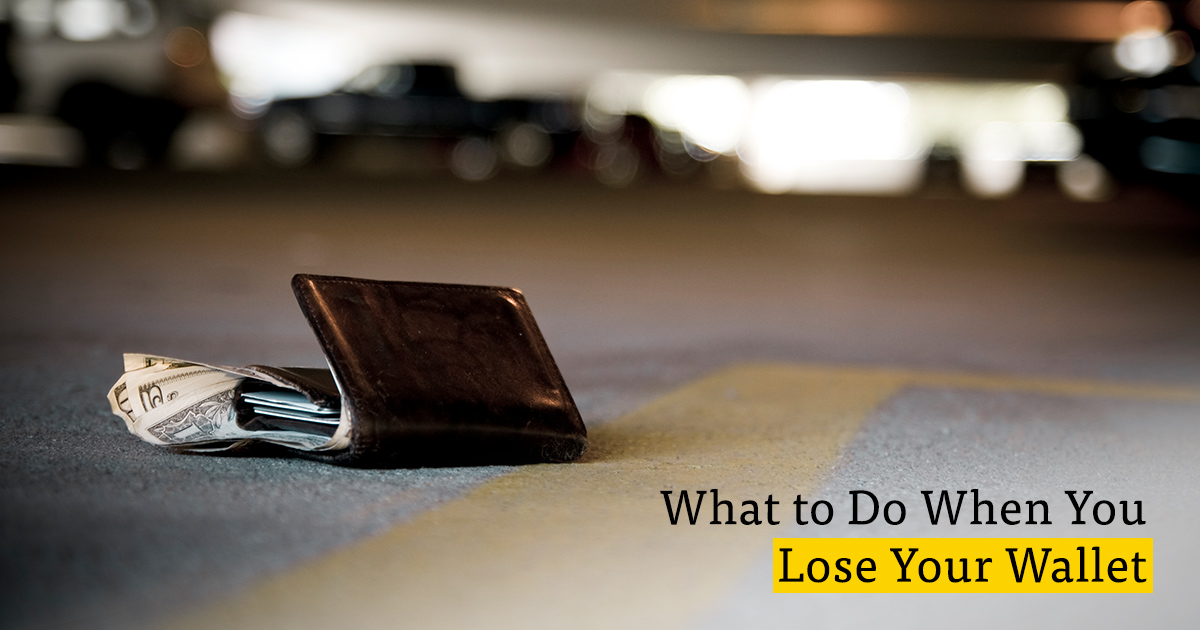 Stolen Wallet? Lost Purse? Follow These Steps to Minimize ...