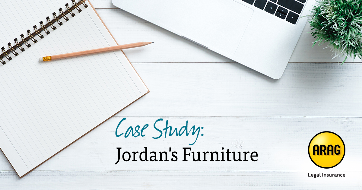 Case Study How Legal Insurance Helped Jordan S Furniture Employee