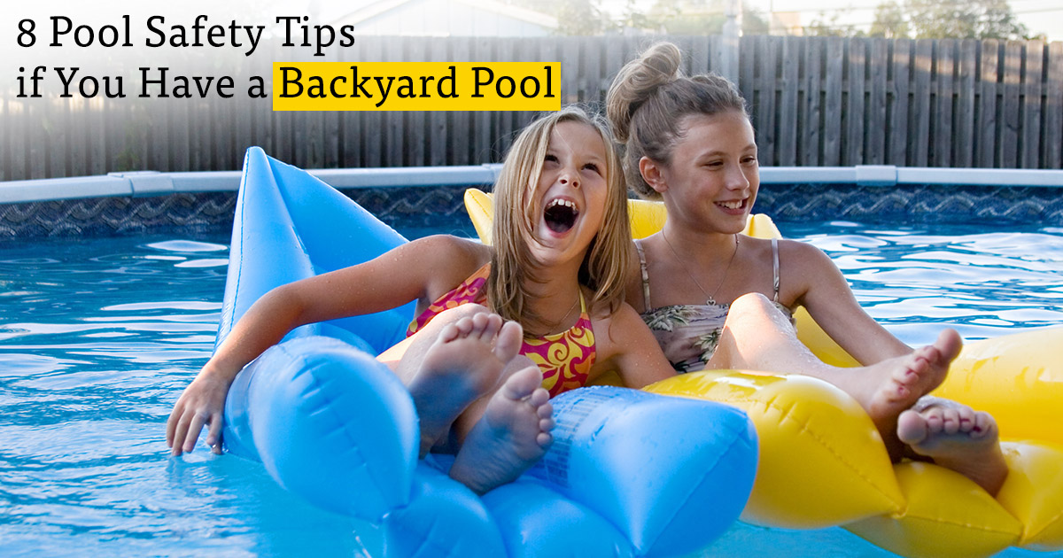 8 Rules For Having A Pool In Your Backyard